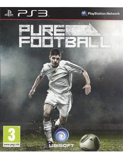 PURE FOOTBALL für Playstation 3 - Anleitung in FR, NL