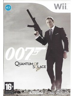007 QUANTUM OF SOLACE for Nintendo Wii