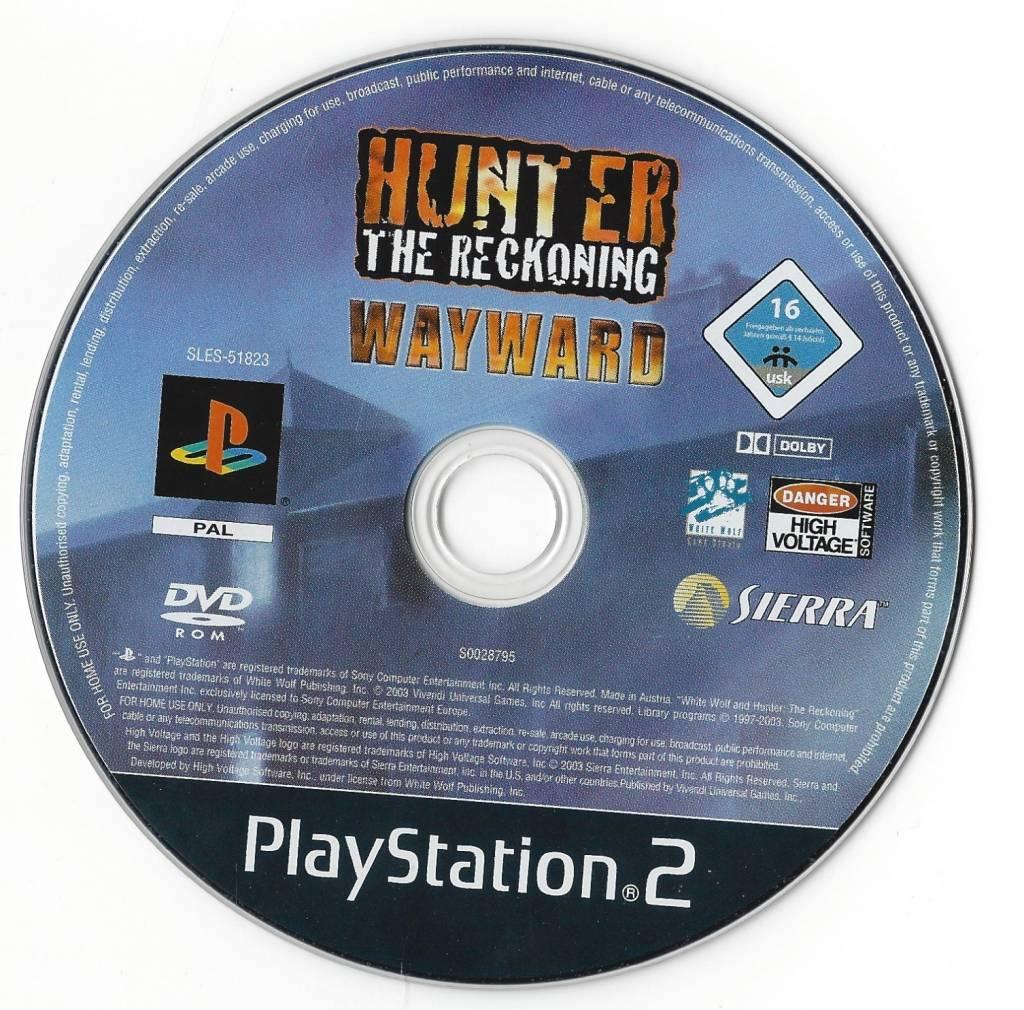 Hunter The Reckoning:  Wayward - PlayStation 2