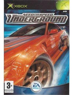 NEED FOR SPEED UNDERGROUND for Xbox