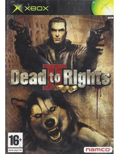 DEAD TO RIGHTS II (2) for Xbox