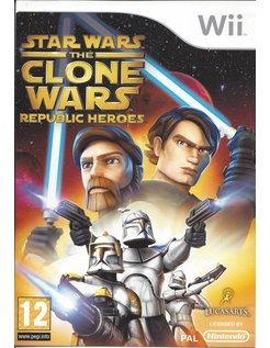 STAR WARS THE CLONE WARS - REPUBLIC HEROES for Nintendo Wii