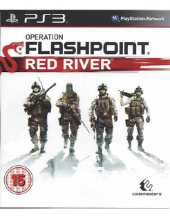 OPERATION FLASHPOINT RED RIVER for Playstation 3 PS3