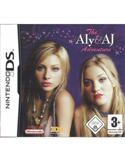 THE ALY AND AJ ADVENTURE for Nintendo DS - complete