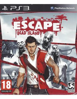 ESCAPE DEAD ISLAND for Playstation 3 PS3 - manual in English