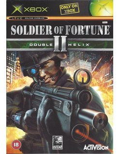 SOLDIER OF FORTUNE II (2) DOUBLE HELIX for Xbox