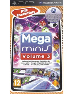 MEGA MINIS VOLUME 3 voor PSP