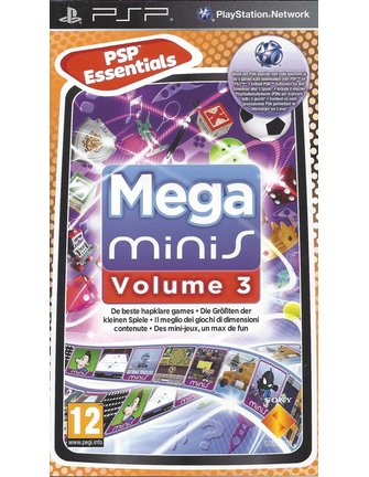 MEGA MINIS VOLUME 3 for PSP