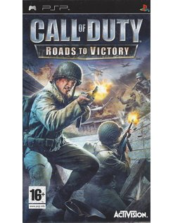 CALL OF DUTY ROADS TO VICTORY voor PSP