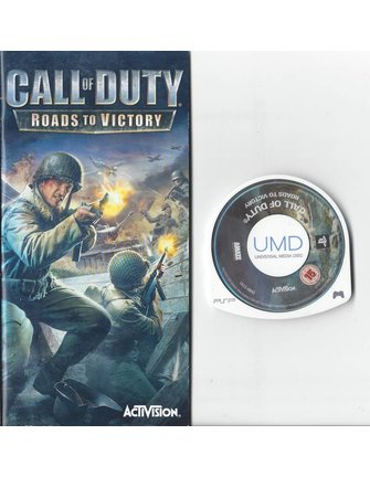 CALL OF DUTY ROADS TO VICTORY for PSP
