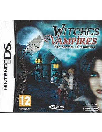 WITCHES AND VAMPIRES THE SECRETS OF ASHBURRY for Nintendo DS