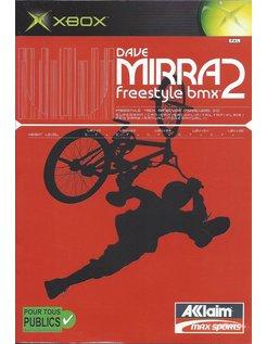DAVE MIRRA FREESTYLE BMX 2 for Xbox