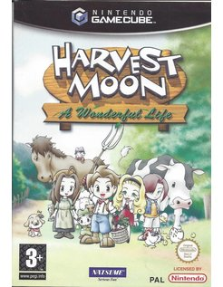 HARVEST MOON A WONDERFUL LIFE for Nintendo Gamecube