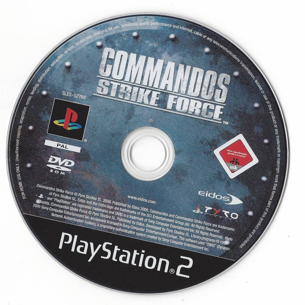 Commandos: strike force (2006) playstation 2 box cover art mobygames.