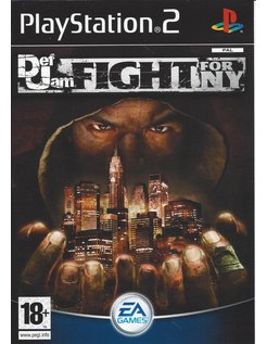 DEF JAM FIGHT FOR NY für Playstation 2 PS2 - Anleitung in Englisch