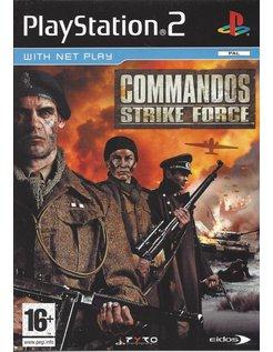 COMMANDOS STRIKE FORCE for Playstation 2