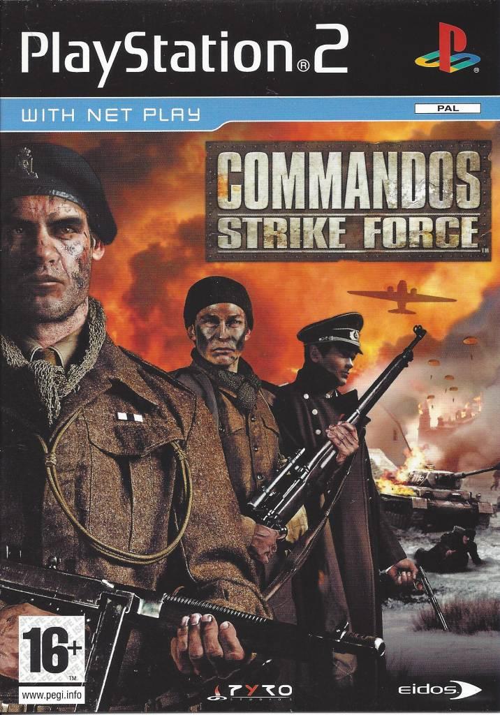 Commandos strike force (ps2) eur 2,57   picclick fr.