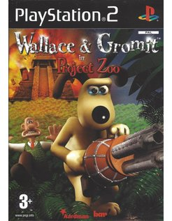 WALLACE & GROMIT IN PRJECT ZOO voor Playstation 2 PS2