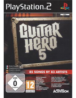 GUITAR HERO 5 for Playstation 2 PS2