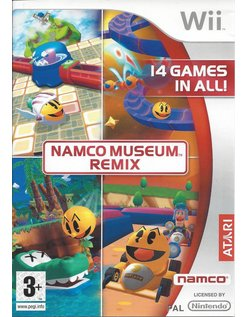 NAMCO MUSEUM REMIX for Nintendo Wii