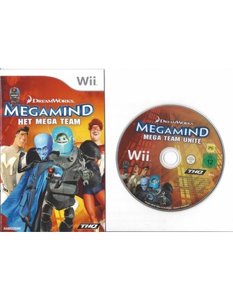 MEGAMIND HET MEGA TEAM for Nintendo Wii