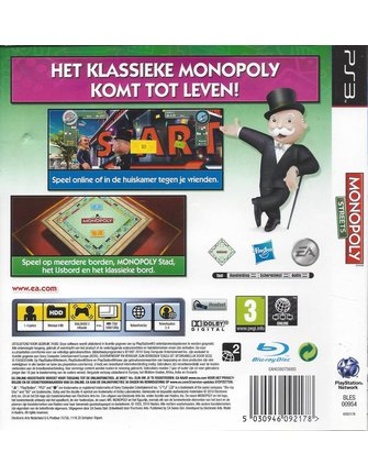 MONOPOLY STREETS for Playstation 3 PS3