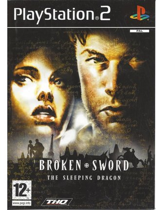 BROKEN SWORD THE SLEEPING DRAGON for Playstation 2 PS2