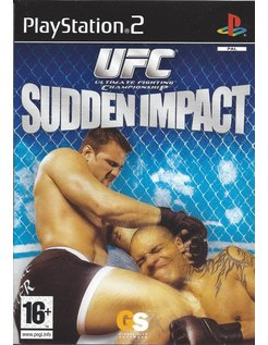 UFC SUDDEN IMPACT for Playstation 2 PS2