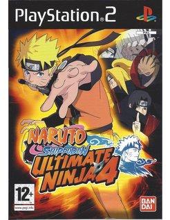 NARUTO SHIPPUDEN ULTIMATE NINJA 4 for Playstation 2 PS2
