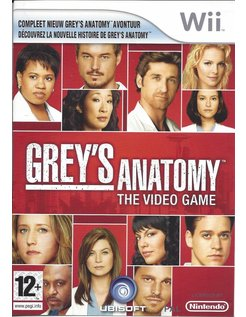 GREY'S ANATOMY THE VIDEO GAME for Nintendo Wii