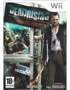 DEAD RISING CHOP TILL YOU DROP for Nintendo Wii