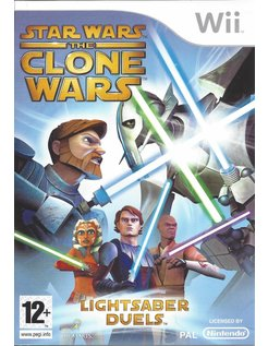 STAR WARS THE CLONE WARS LIGHTSABER DUELS for Nintendo Wii