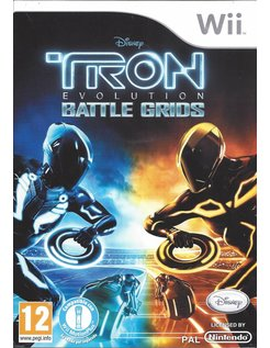 TRON EVOLUTION BATTLE GRIDS for Nintendo Wii - manual in ESP