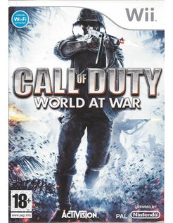 CALL OF DUTY WORLD AT WAR for Nintendo Wii