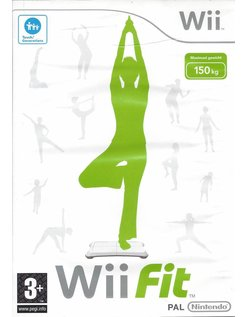 Wii FIT for Nintendo Wii - manual in Dutch