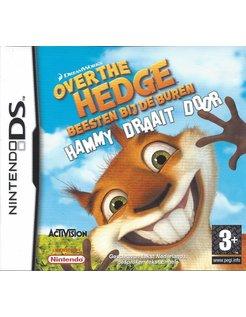 OVER THE HEDGE BEESTEN BIJ DE BUREN HAMMY DRAAIT DOOR - Nintendo DS