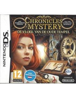 CHRONICLES OF MYSTERY DE VLOEK VAN DE OUDE TEMPEL - Nintendo DS
