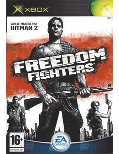 FREEDOM FIGHTERS for Xbox - manual in NL
