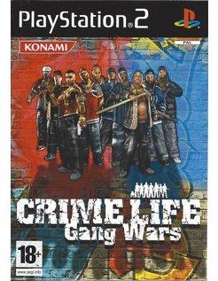 CRIME LIFE GANG WARS for Playstation 2 PS2