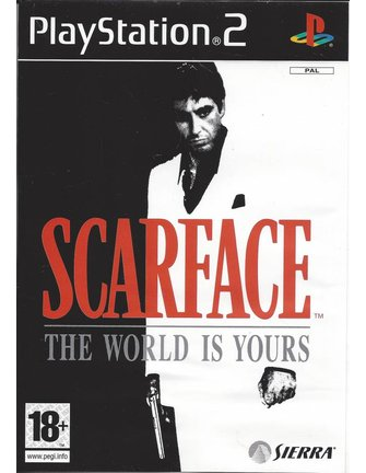 SCARFACE THE WORLD IS YOURS for Playstation 2 PS2
