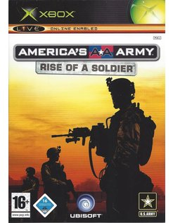 AMERICA'S ARMY RISE OF A SOLDIER for Xbox