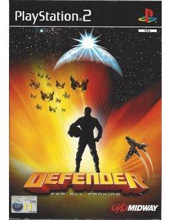 DEFENDER for Playstation 2 PS2
