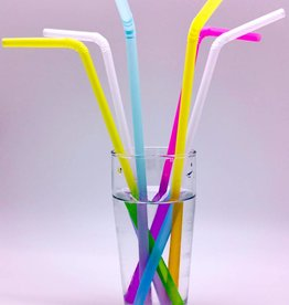 """Magic Straw"" Trinkhalme-Flexi mit Farbwechsel"