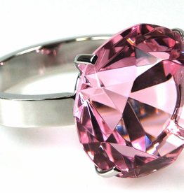 Serviettenring, pink
