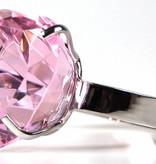 Serviettenring, Herz, pink