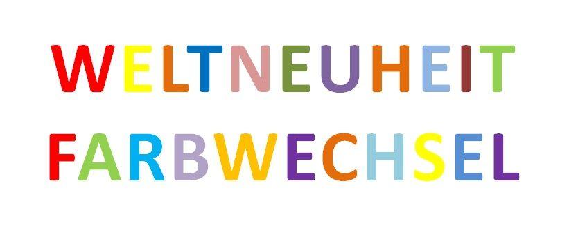 """Magic Straw"" Kreativ-Trinkhalm mit Farbwechsel"