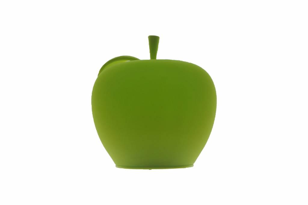 Kabellose Lampe aus Silikon im Apfel-Design