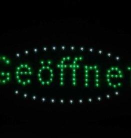 "LED Schild ""Geöffnet"""