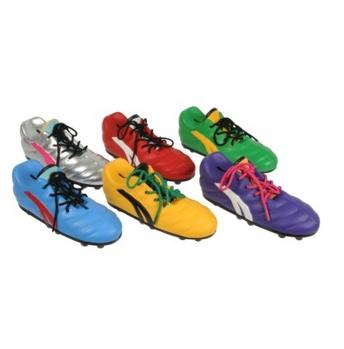 Spaarpot voetbalschoen, sportief sparen voor voetbal meiden
