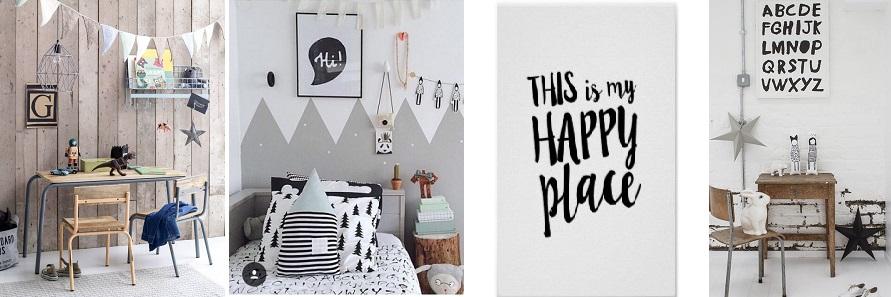 Hippe kinderkamers decoratie en accessoires voor kids hippe kinderkamers - Kamer grijs kid ...